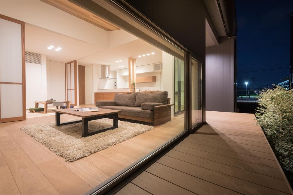 富山 注文住宅のLDK