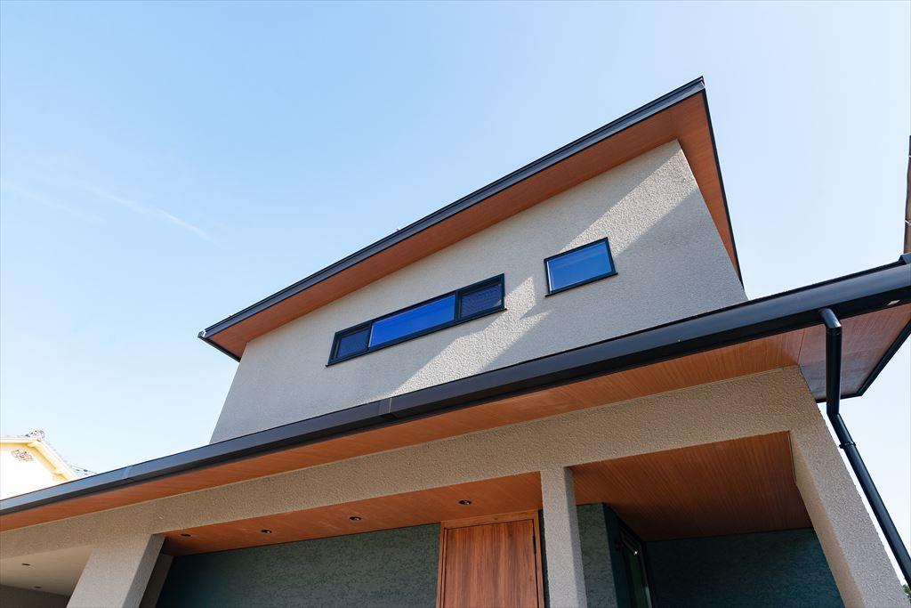 富山注文住宅の外観