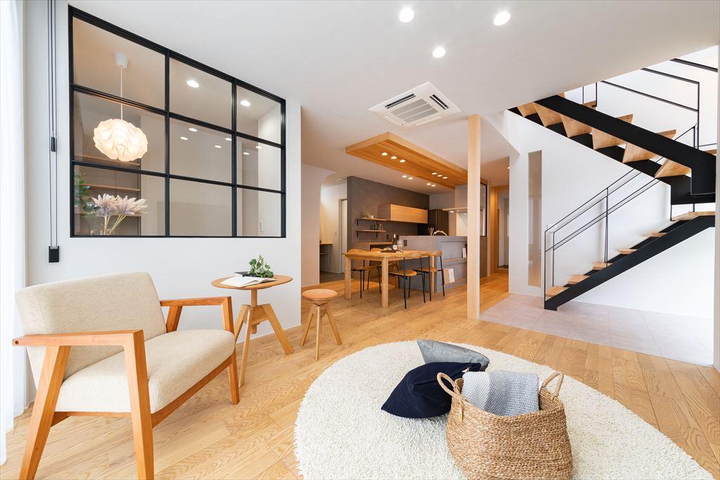 富山県注文住宅のLDK