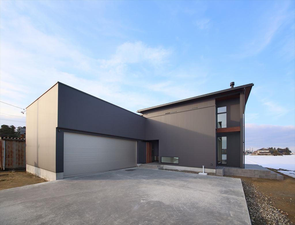 富山県注文住宅の外観